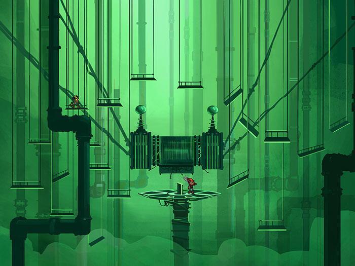 Галерея изображений из мультсериала «Герои Энвелла»