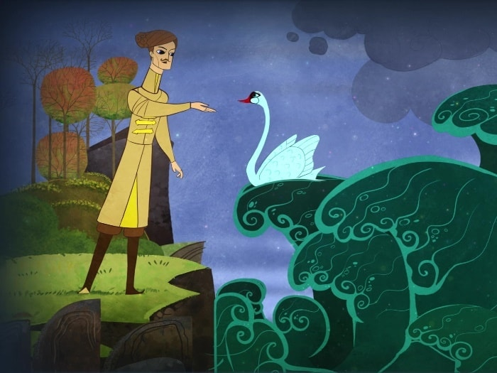 Concept Art from «Magic Lantern» cartoon