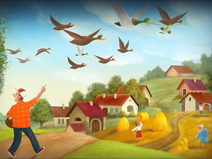 Галерея изображений мультфильма «Волшебный фонарь»