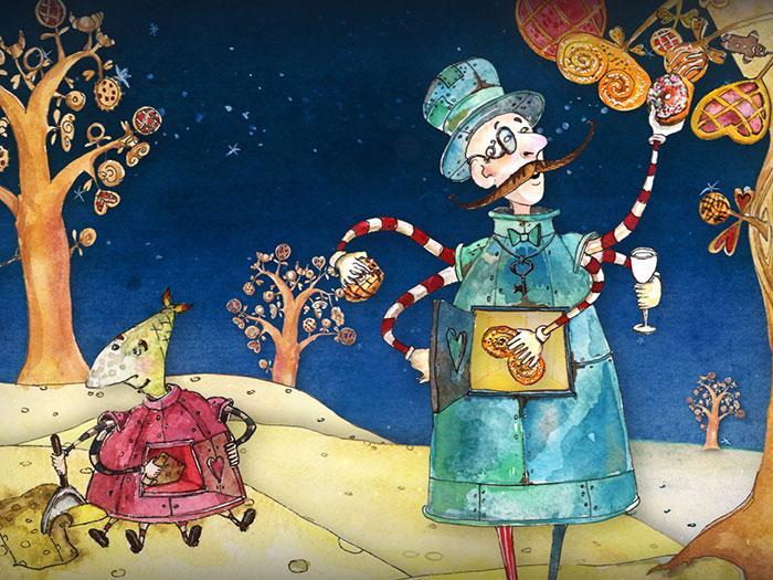 Кадры из мультфильма «Волшебный фонарь»