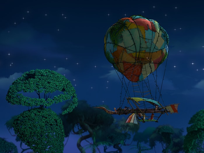 Кадры из мультфильма «Лео и Тиг»