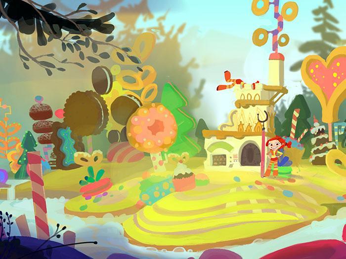 Галерея изображений мультфильма «Сказочный патруль»