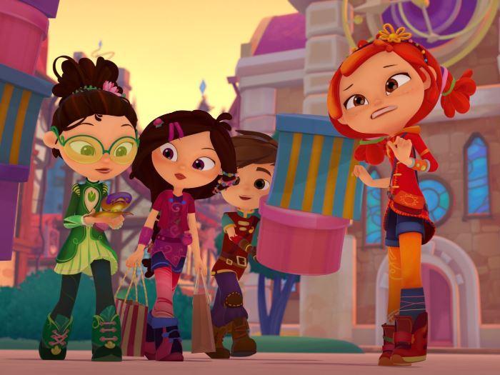 Кадры из мультфильма «Сказочный патруль»